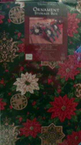 Christmas Ornament Storage Box - Decorative Cardboard