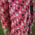 Best Girls Flower Velvet Dress or Top - Size 18 mos
