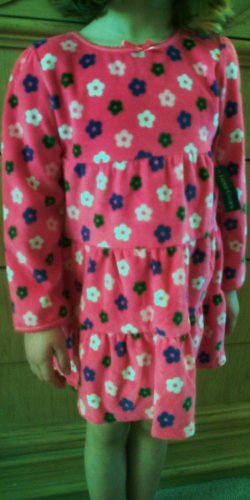 Best Girls Flower Velvet Dress or Top - Size 18 mos