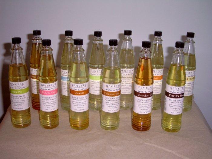 Demeter Fragrance Library Tender Body Oil - Apple Pie