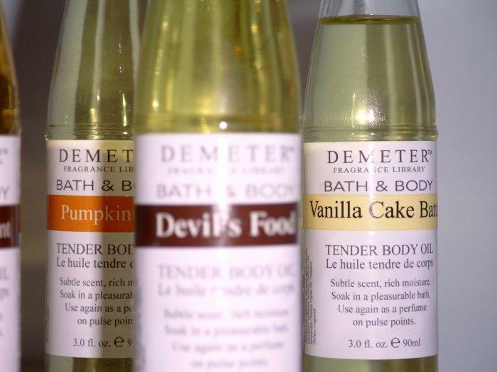 Demeter Fragrance Library Tender Body Oil - Vanilla Cake Batter