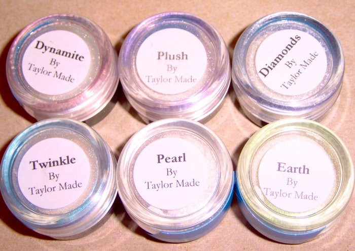 Taylor Made Minerals - 6 pc Shimmer Shifter Highlighters