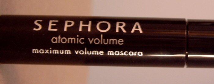Sephora Atomic Volume Mascara 3ml/0.10oz Trial Size