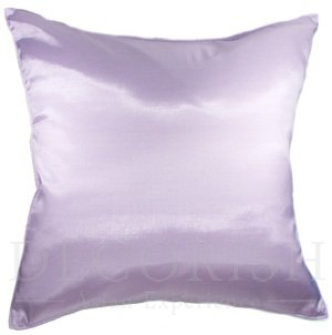 Violet Purple Silk Couch Bed Throw Decorative Pillow Cases 16x16 inches