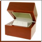 Classic Wood Jewelry Gift Box in High Gloss Rosewood Finish
