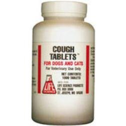 Cough Tabs for Dogs and Cats Guaifenesin 250ct