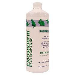 EicosaDerm Liquid 32 oz High-potency Omega-3 for Dogs