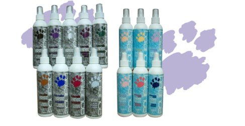 Balance Cologne Spray for Pets Baby Powder 8oz Grooming Room Freshener