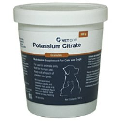 Potassium Citrate Granules Liver Flavor to prevent Urinary Stones for Cats and Dogs 300gm
