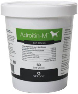 Adroitin M Joint Support for Dogs 60 Softchews