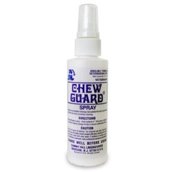 Chew Guard Spray Chew & Lick Deterrent for Dogs and Cats 4oz