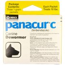 Panacur C Canine for Small Dogs Dewormer 1-Gram x 30 Packets (Each Packet Treats 10 lbs)