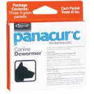 Panacur C Canine for Large Dogs Dewormer 4-Gram x 30 Packets (Each Packet Treats 40 lbs)
