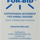 Forbid Stop Stool Eating Coprophagia Deterrent 12 Packets