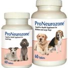 ProNeurozone Senior Cognitive Supplement Tabs for Small Dogs 60 count Brain Health