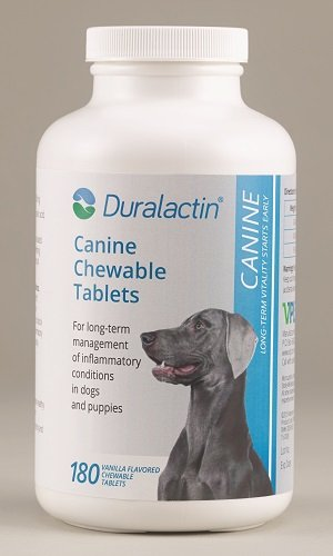 Duralactin Canine Joint Support Vanill Flavored Chewables 1000mg 180 count