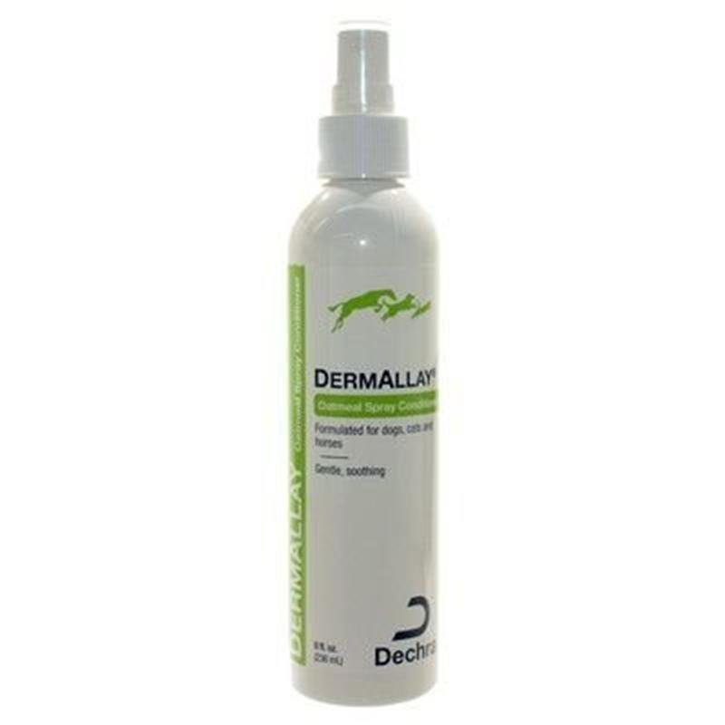 Dermallay Spray Oatmeal Conditioner Dry Skin Treatment for Pets 12oz