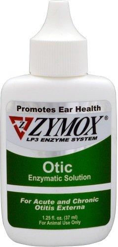 Zymox Otic Enzymatic Solution without Hydrocortisone - Green 1.25oz