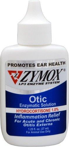 Zymox Otic Enzymatic Solution with Hydrocortisone - Blue 1.25oz