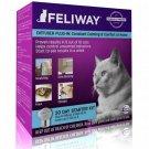 Feliway Cat Appeasing Pheromone Starter Kit - New Diffuser + 30 Day Refill
