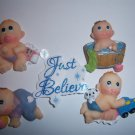 "Ceramic Small Babies 1"" Baby Shower Favors Capias 24"