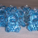 Teddy Bear Baby Shower Charms Favors 144 Blue 1""