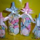 """Bottles Jumbo Baby Shower 144 PINK Favors 5"""""""