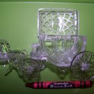 Cinderella Carriage Wedding Favors Clear 24