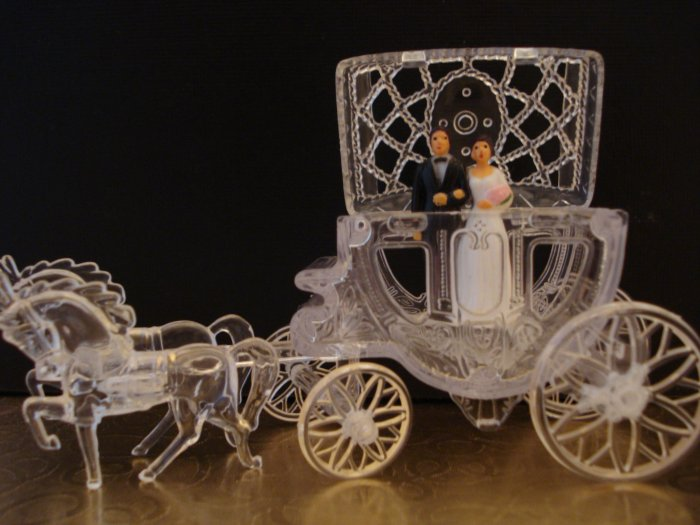 Cinderella Carriage Wedding Favors Clear 144