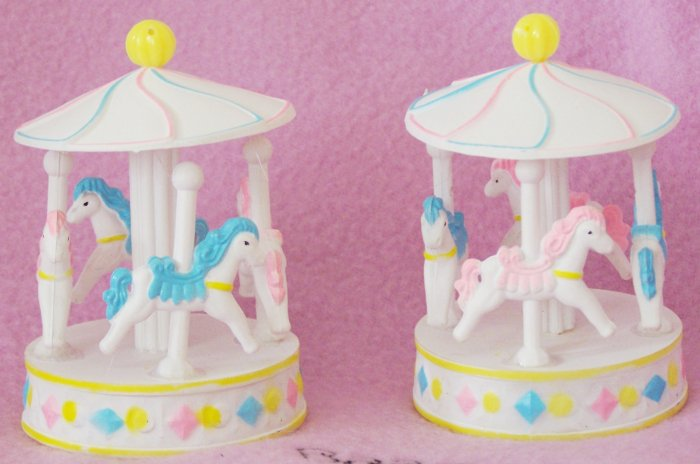 Carousels Merry Go Round Baby Shower Favors 12 pack