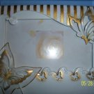 Butterfly Wedding Quinceanera Anniversary Accesories English Gold
