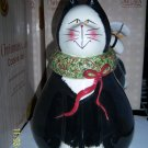 Christmas Cookie Jar Cat Sakura Oneida Earthenware NIB