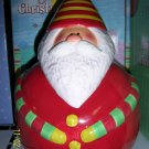 Christmas Cookie Jar Santa Sakura Oneida EarthenwareNIB