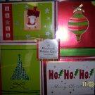 Christmas 28 Handmade Holiday Cards Hallmark Green NIB