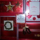 Christmas 28 Handmade Holiday Cards Hallmark RED NIB