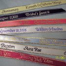 Personalized Ribbons Party Favors Wedding Quinceanera Baby Bridal Shower 100