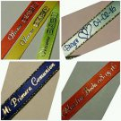 Personalized Ribbons SPECIAL BUY 3 GET 4 Wedding Quinceanera Baby Bridal Shower