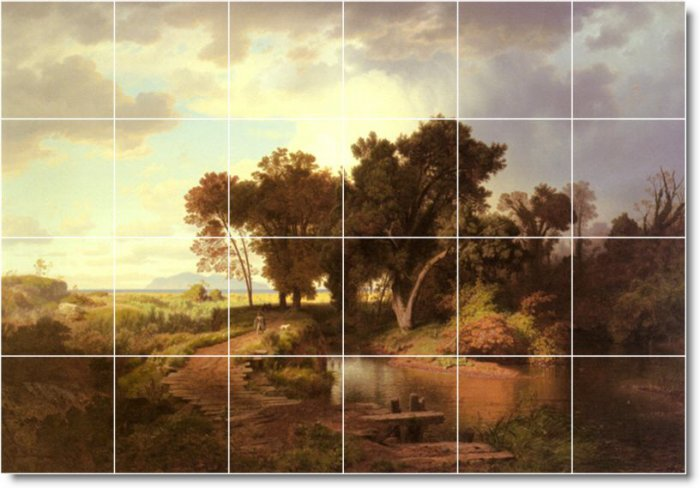 Achenbach Landscapes Bedroom Wall Floor Mural Decor Modern House
