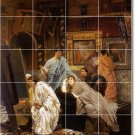 Alma-Tadema People Wall Kitchen Mural Commercial Remodel Ideas