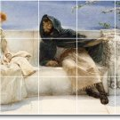 Alma-Tadema Men Women Backsplash Tiles Mural Design Commercial