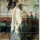 Alma-Tadema Women Tile Room Mural Remodeling Interior Design Idea