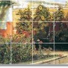 Alma-Tadema Men Women Kitchen Tiles Floor Decor Interior Decor