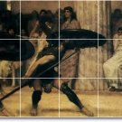 Alma-Tadema Historical Living Room Tile Mural Home Decor Design