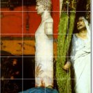 Alma-Tadema Historical Mural Living Tile Room Remodeling Modern