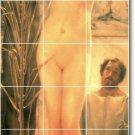 Alma-Tadema Nudes Murals Tile Room Dining House Renovation Design