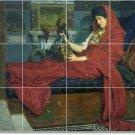 Alma-Tadema Women Living Tile Room Murals Renovation Design House