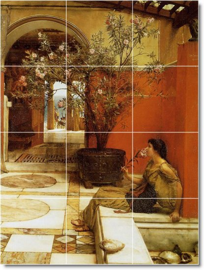 Alma-Tadema Women Floor Kitchen Mural House Decorate Construction