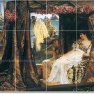 Alma-Tadema Historical Tiles Room Floor Dining Ideas Remodeling