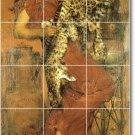 Alma-Tadema Women Floor Mural Kitchen Construction House Decorate