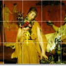 Alma-Tadema Men Women Dining Floor Tile Room Decor Residential